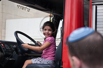 20121002 Jerusalem Fire Brigade opens its doors to the public