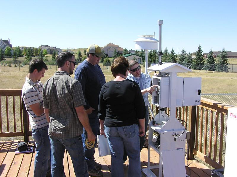 Training on URG3000N carbon sampler
