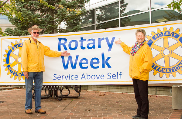Rotary Week Kick-Off BBQ at City Hall in Burlington
