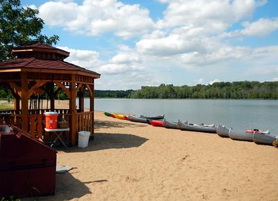 Creve Coeur Lake Kayak, 8-15-2013