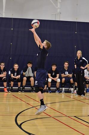 OE Freshmen boys volleyball Vs Romeoville 2015