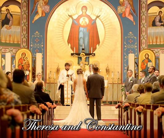 Theresa & Constantine 13x11 Wedding Album