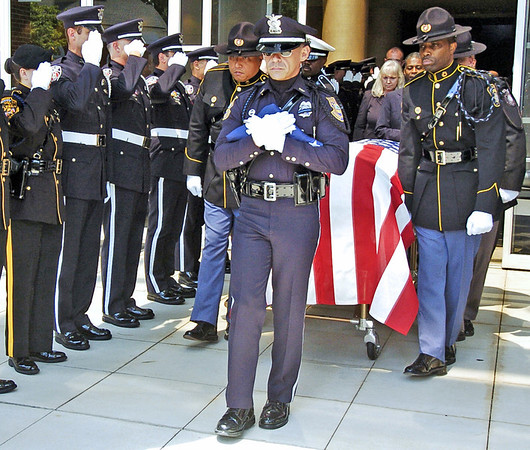 Clayton County Police Officer Rick Daly Funeral