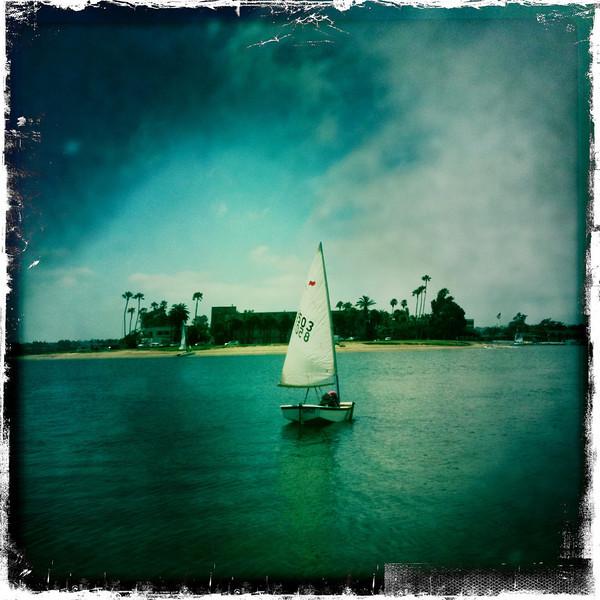 Sailing camp, Mission Bay Yacht Club, San Diego