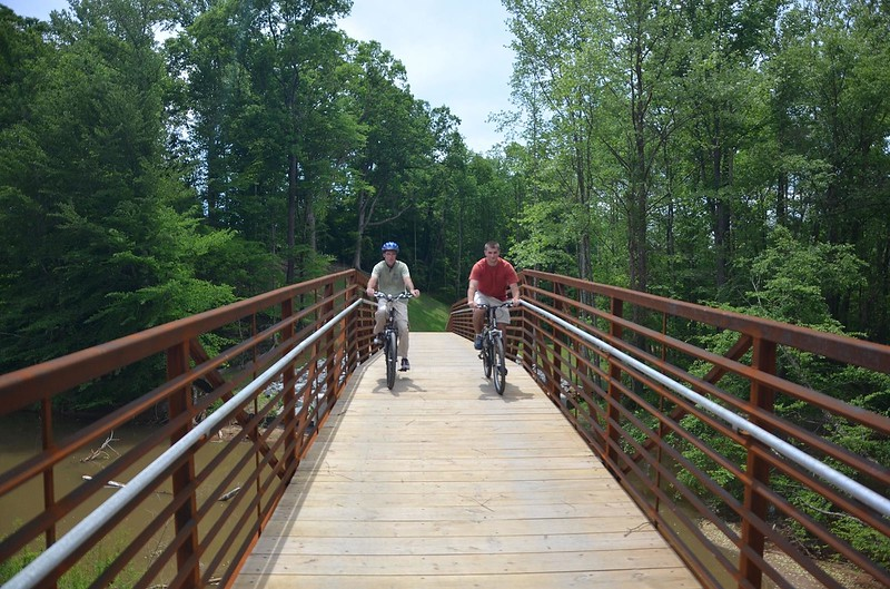 Construction: North Carolina: Elkin & Allegheny Railroad Trail Bridge