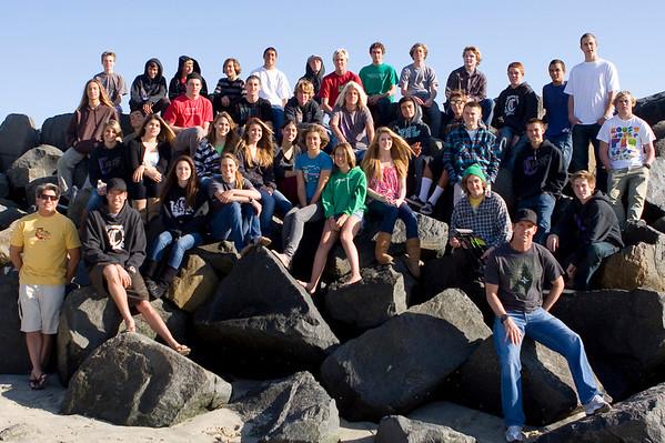 2009 Carlsbad High Surf Team