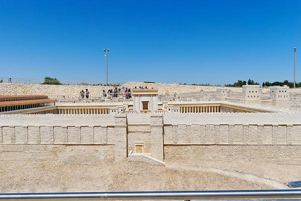 Jerusalem - maquete de Jerusalem - museu de israel