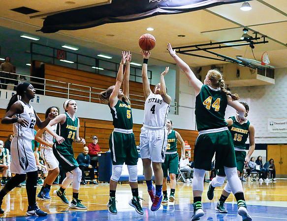 Lorain VS Amherst Girls Basketball 2016
