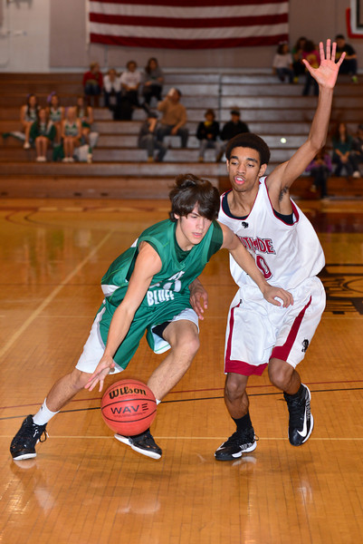 Hokes Bluff JV Boys v. Southside, January 19, 2013