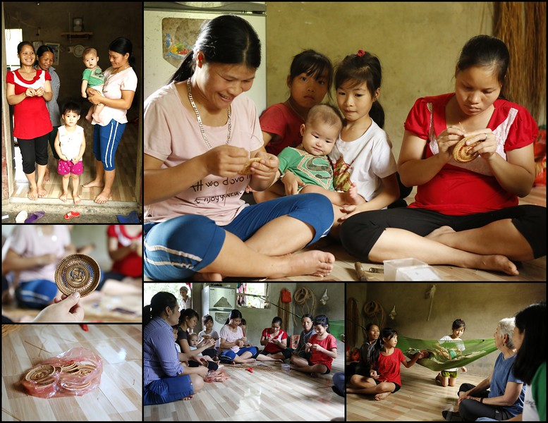 ChildFund Household : Making rattan & bamboo products