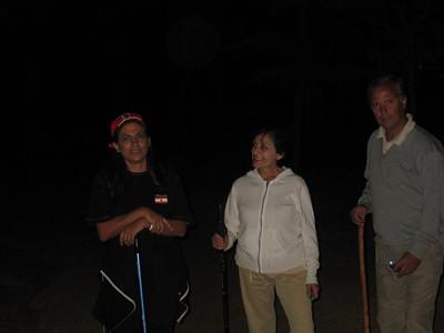 75 Survivors of Full Monn Hiking
