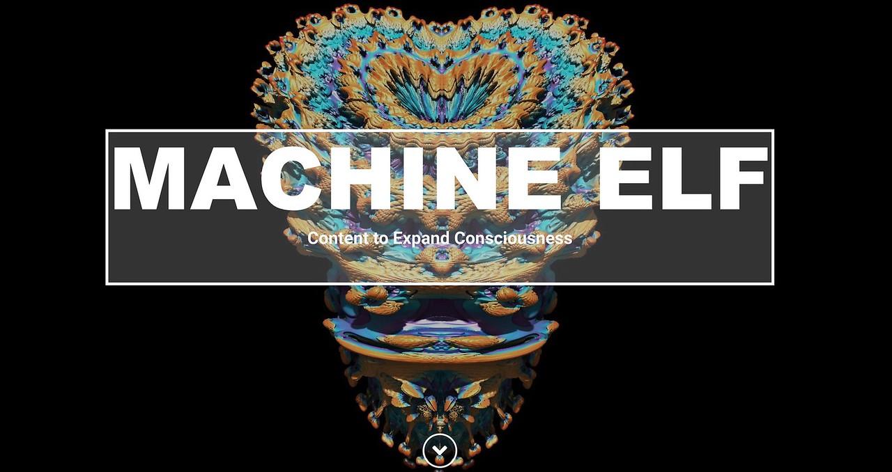 The Machine Elf Website
