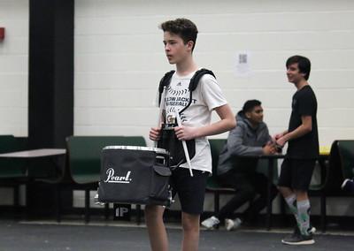 2019-01-12 RHS Indoor Drumline Practice (Josh Knutson)