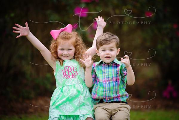 Harlan Grace &  John Cullen~Happy Easter! 2016