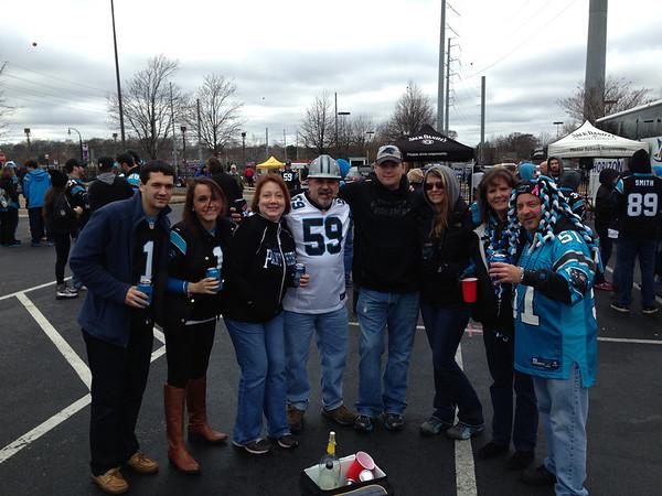 Panthers @ Falcons 29 December 2013