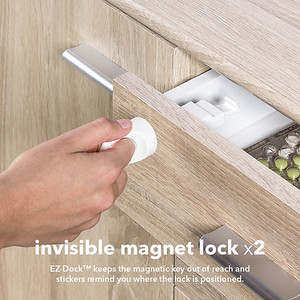 Invisible Magnet Lock