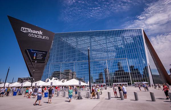US Bank Stadium Open House - 24-Jul-2016