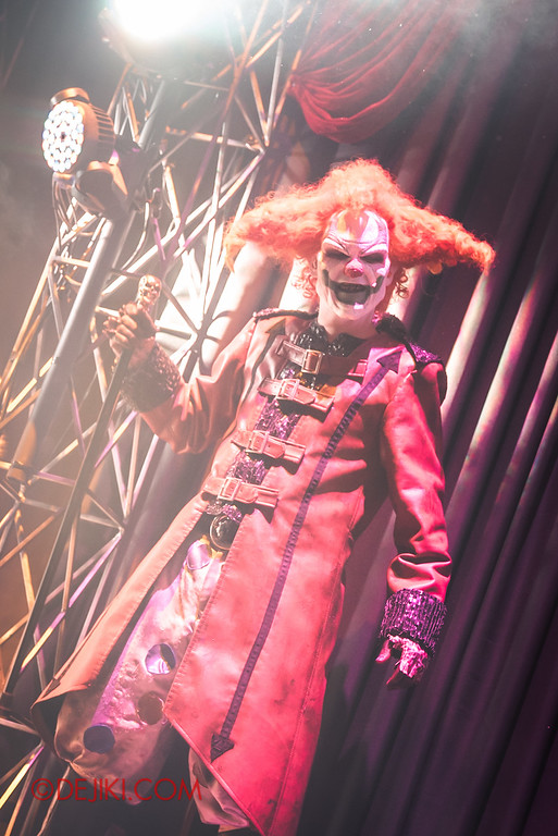 Halloween Horror Nights 6 - Opening Scaremony / Icon Stage - Jack the Clown