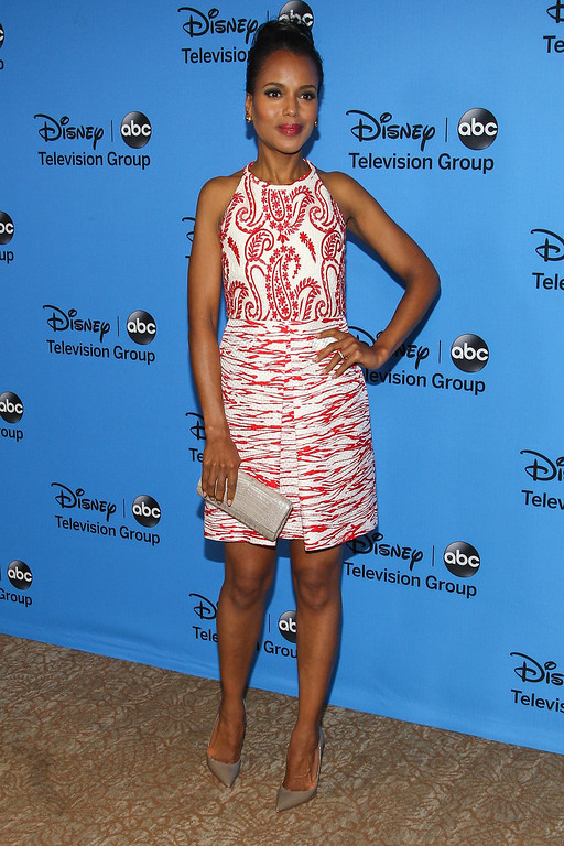". BEVERLY HILLS, CA - AUGUST 04:  Actress Kerry Washington attends the Disney & ABC Television Group\'s ""2013 Summer TCA Tour\"" at The Beverly Hilton Hotel on August 4, 2013 in Beverly Hills, California.  (Photo by Paul A. Hebert/Getty Images)"