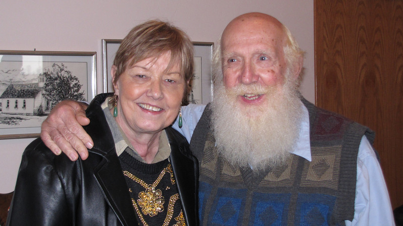 Bernice and Eddie (Santa) Henning