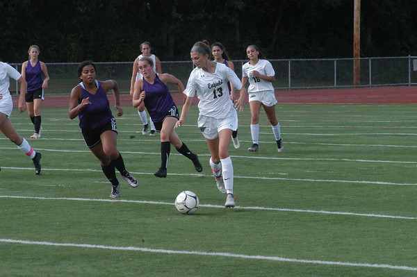 Enfield Girls Soccer Scrimmage 9-9-19