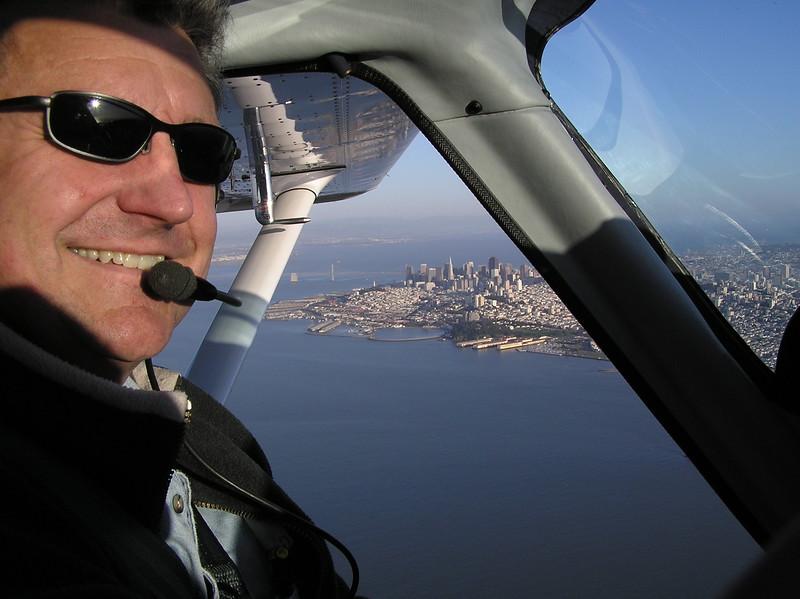 My photo pilot Darrel Dalberg