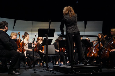 GWU/Cleveland County Orchestra Performance