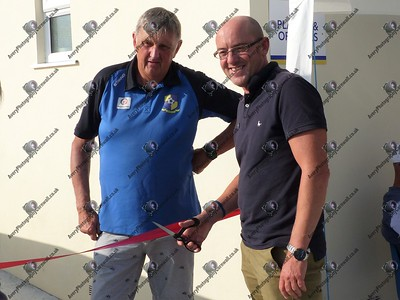 New Changing Rooms Opening Ceremony