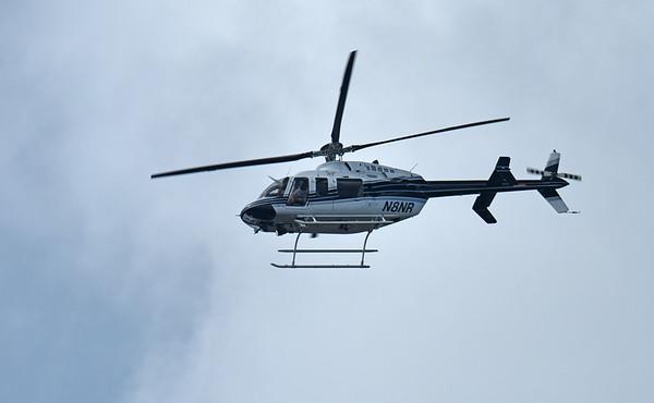 Chopper over Jekyll Island 07-04-18