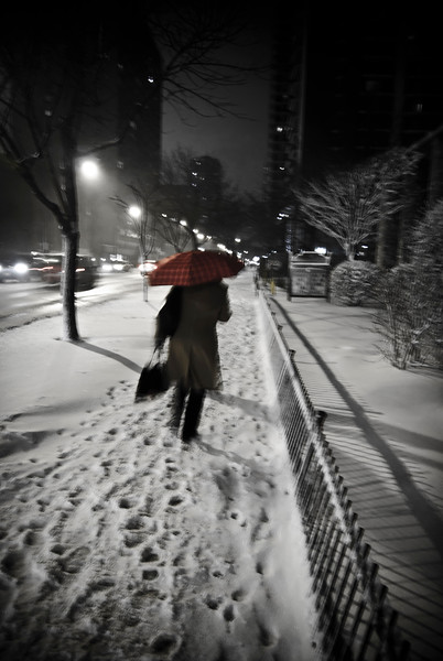 The Man with the Red Umbrella
