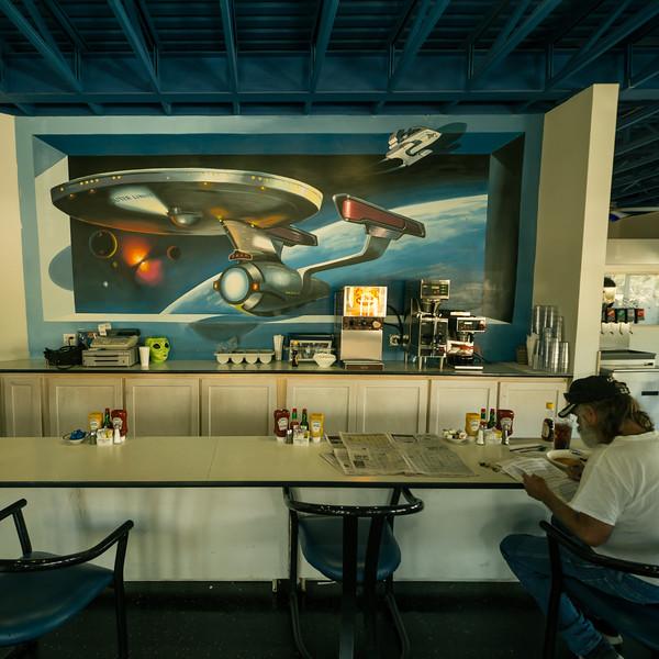 Space Age Motel in Gila Bend, Arizona