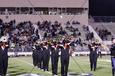 Band and Sideline vs Sinton