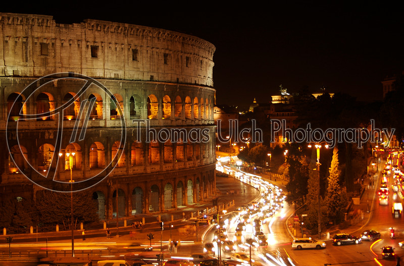 The Colosseum. Rome, Italy.
