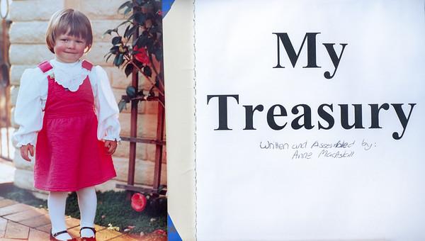 Anne's book: My Treasury