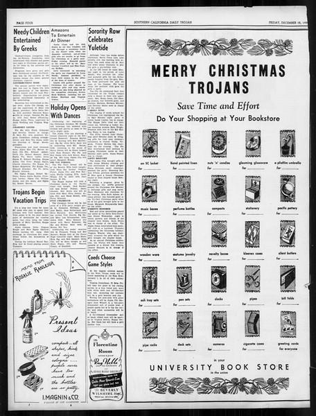 Daily Trojan, Vol. 31, No. 63, December 15, 1939
