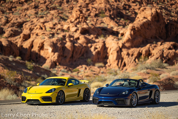 000 Magazine Cayman GT4 and 718 Spyder