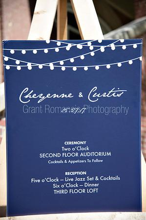 Cheyenne&Curtis Wedding