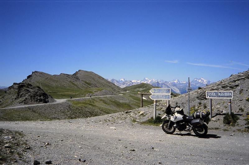 Assietta Kam route