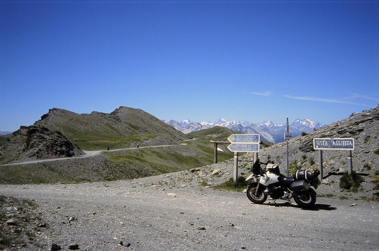 '03 Assietta Kam Route. Testa Assietta