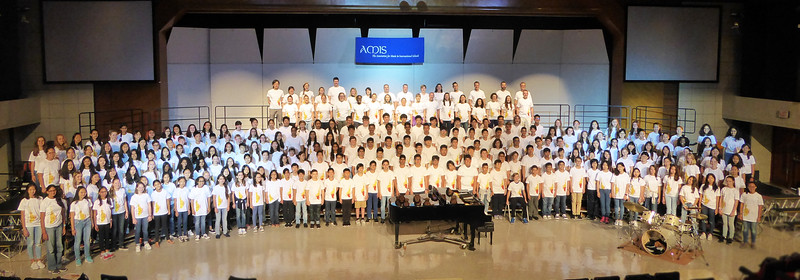 Asian Middle School Honor Girls' & Honor Boys' Choirs