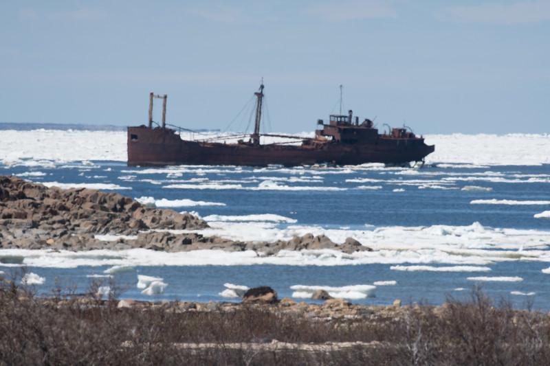 Ithica ship wreck Bird Cove Hudson Bay Churchill Manitoba Canada DSC00089.jpg