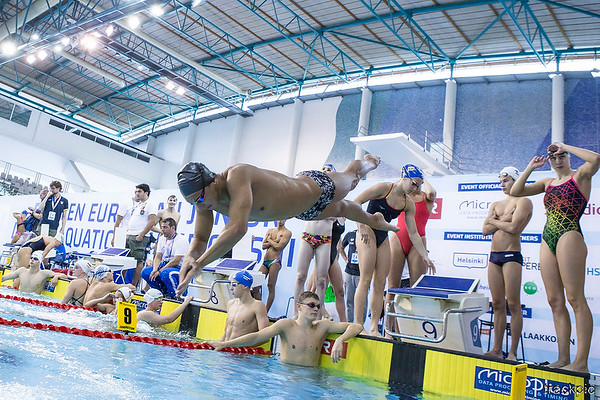 LEN European Junior Champs Swimming 4