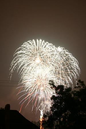 Fireworks on July 4, 2006