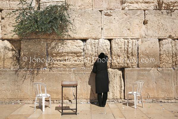 ISRAEL, Jerusalem, Old City, Jewish Quarter. Kotel (Western Wall) (9.2014)