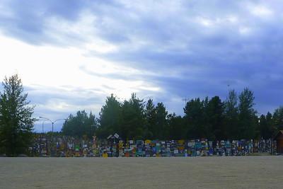 Day 10 - Mon. 8-26-13 Watson Lake, YT