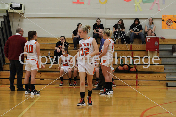 12/23/2011 Lady Hubbers vrs Lady Wolverines