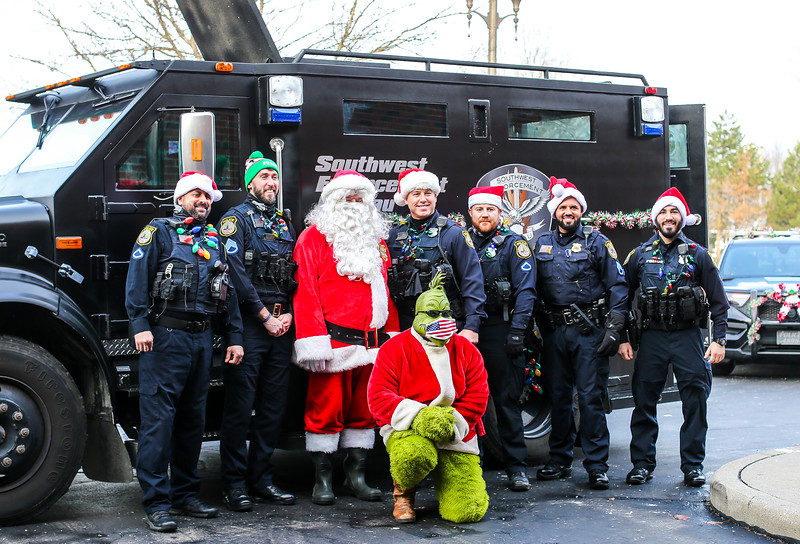 Middleburg Heights Police Department Shop with a Cop Holidays 2020