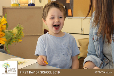 Shaare Torah Early Childhood Center First Day of School 2019