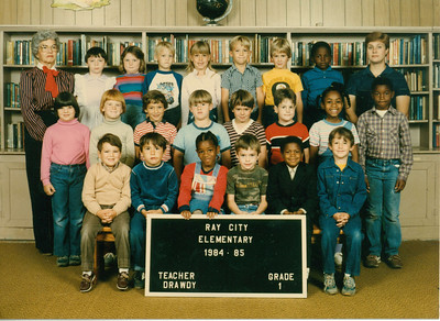 Ray City Elementary School - 1984-85