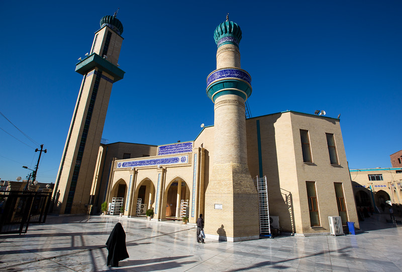 The Grand Mosque of Sulaymaniyah, built by Prince Ibrahim Pasha Baban in 1784.